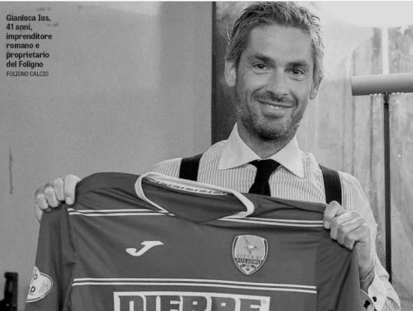 Gianluca Ius, ex presidente del Foligno Calcio, arrestato nel Dicembre 2016