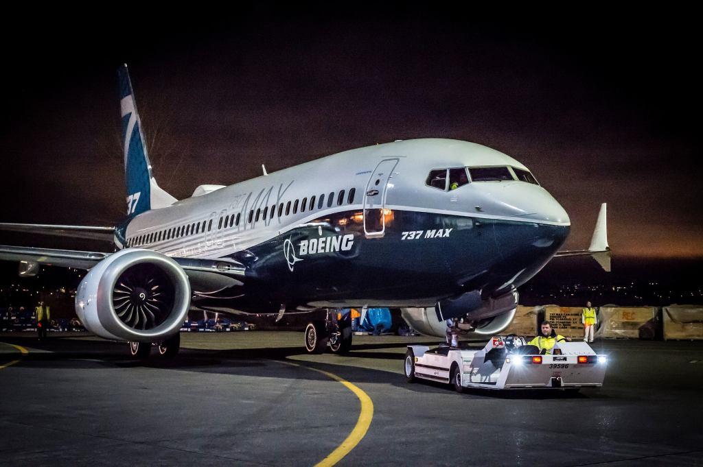In foto: un Boeing 737Max